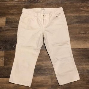Old navy white capris
